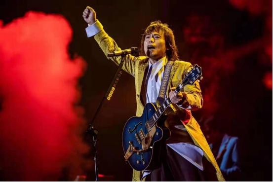 """几代人的青春回忆杀!伍佰""""Rock Star2019演唱会""""将在沈阳站开唱!"""